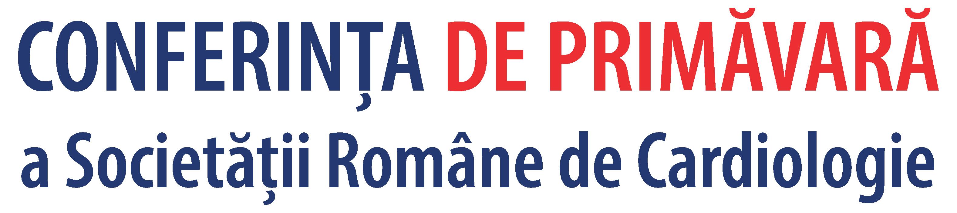 CONFERINŢA DE PRIMĂVARĂ A SOCIETĂȚII ROMÂNE DE CARDIOLOGIE