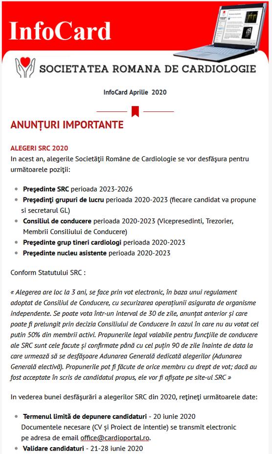 infocard aprilie 2020