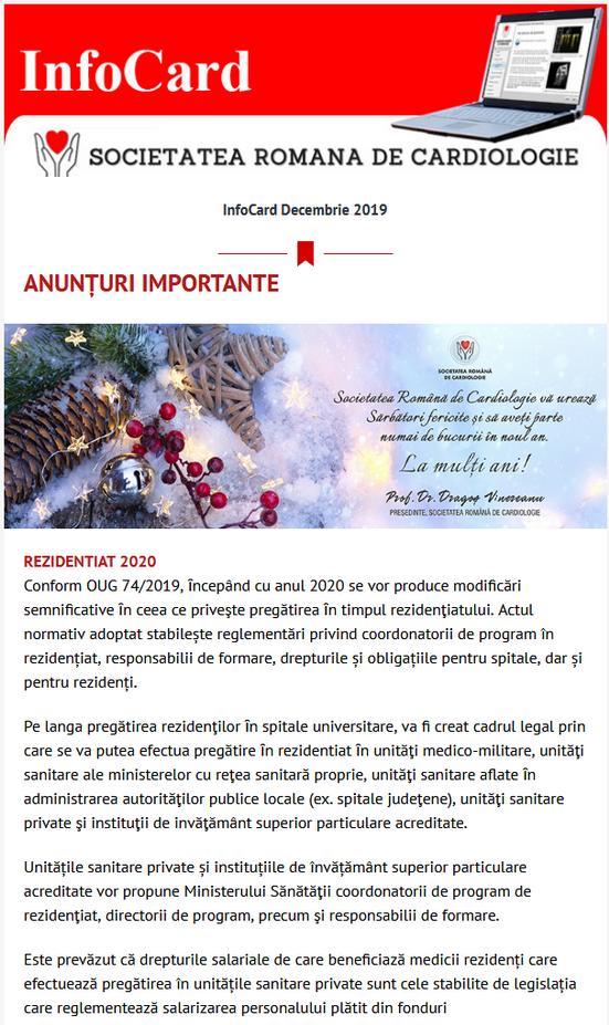 infocard decembrie 2019