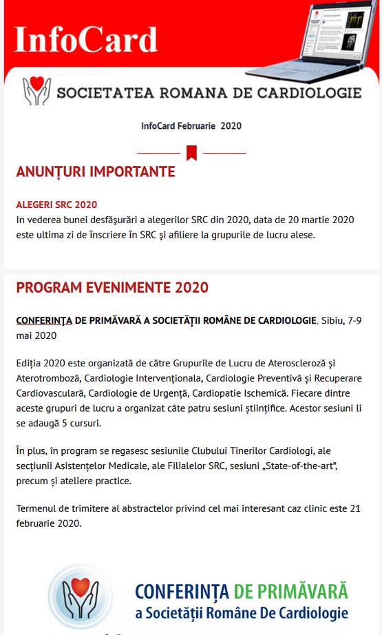 infocard editie speciala 2020