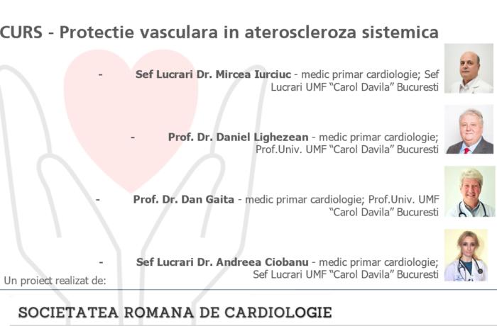 Curs Protectie vasculara in ateroscleroza sistemica
